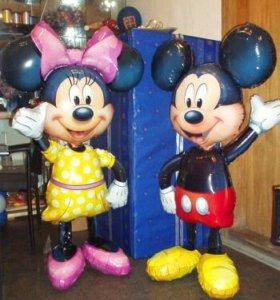 Ходячие фигуры из фольгированных шаров