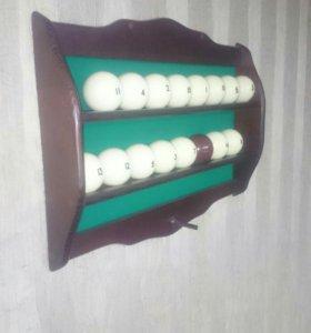 Бильярд полка для шаров