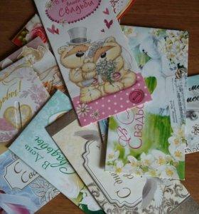 Новые конвертики на свадьбу