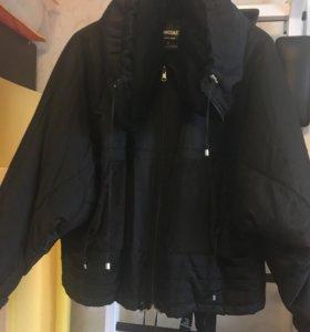 Куртка оверсайз утеплённая