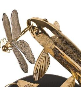 Форель со стрекозой(златоуст)