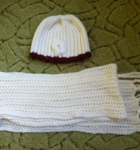 Шапка и шарф (комплект)