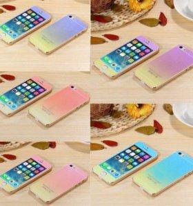 Цветные стекла для iPhone