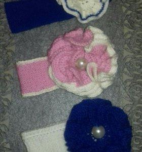 Эксклюзивные повязки на головку малышкам