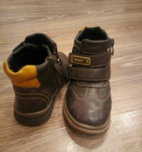Ботинки весеннии , размер 27