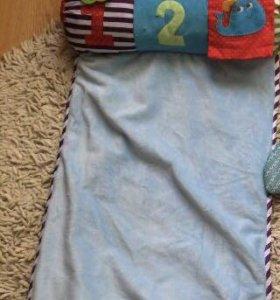 коврик развивающий с подушкой
