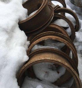 Диски колесные от КАМАЗа
