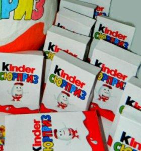 Праздничный пакетик со сладостями