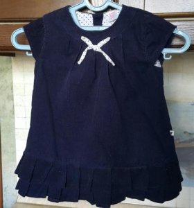 Платье 9-12 месяцев