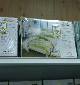 Постельное белье, одеяла, подушки, пледы.