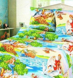 Продается постельное белье детское бязь