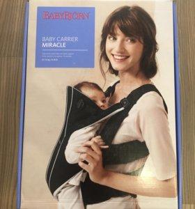 Рюкзак-переноска baby Bjorn miracle