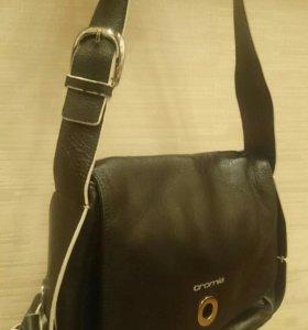 Кожаная сумка Cromia Италия