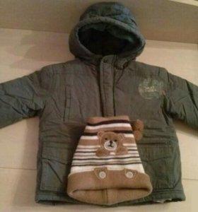 Куртка на мальчика б/у