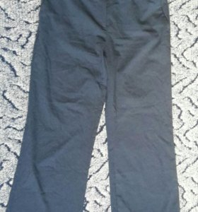 Синие классические брюки
