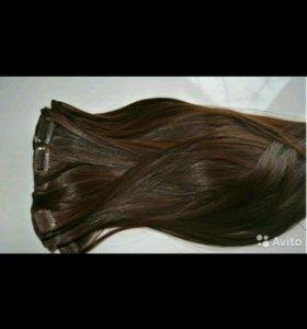 Термо волосы на заколках