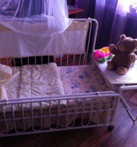 Детская кроватка-трансформер Geoby