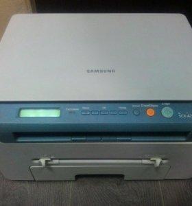 Принтер лазерный 3 в 1 Samsung SCX-4220