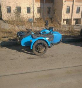 Урал с коляской