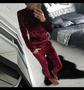 Бархатный костюм