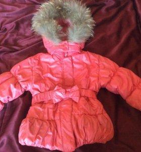 Куртка зимняя baby club 98 р