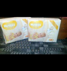Подгузники Haggies Elite Soft для новорожденных