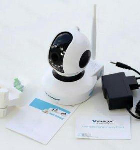 Видеоняня, поворотная ip камера wifi. Vstarcam