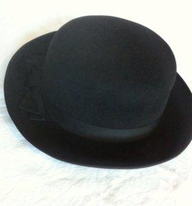 Женская шляпа . Фетр