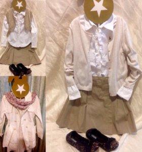 Одежда для девочек 10лет 6 вещей