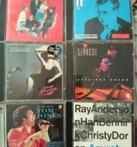 Коллекционные CD диски 7 шт.