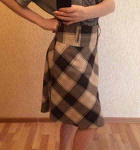 Клечатая юбка