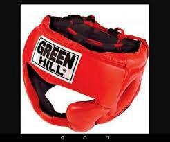 """Боксёрский шлем """"Green Hill"""" Super"""