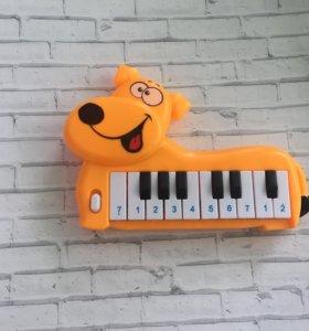 """Пианино """"Веселый пёс"""""""