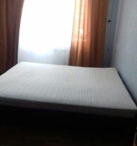 Кровать и матрас Икеа 160/200