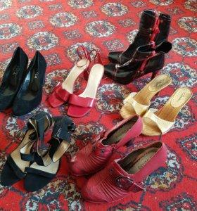 Женская обувь пакетом