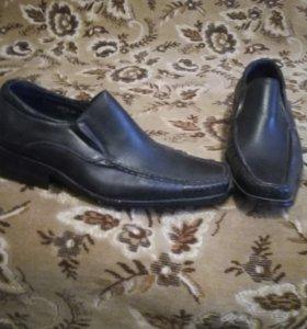 Туфли для мальчика,новые, 37размер