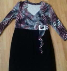 Платье трикотажное 56