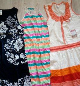Платье и футболка новые