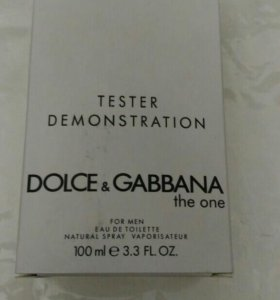 "ТЕСТЕР Dolce&Gabbana ""The One Man"" 100 ml"