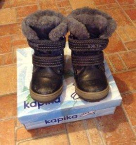 Ботинки зимние Kapika р.23