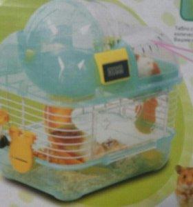 Новая клетка для хомячка.