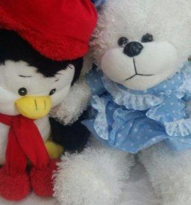 Пингвин и собачка