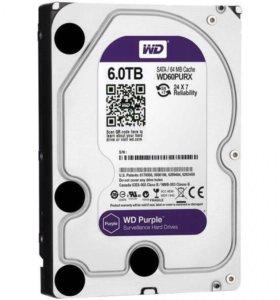 Жёсткий диск на 6 терабайт
