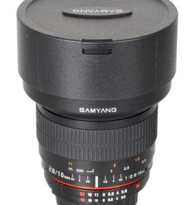 Объектив Samyang MF 10mm f/2.8(micro 4/3)