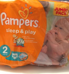Pampers sleep play