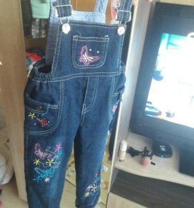 джинсы на флисе)