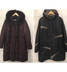 Пальто , куртка на 56-58