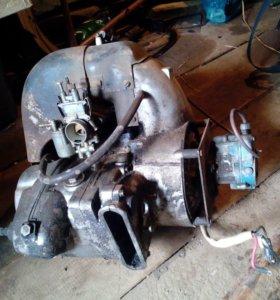 Двигатель мотороллер турист