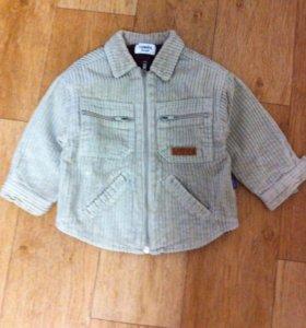 Вельветовая куртка 92-98