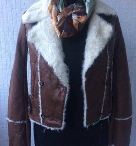 Женская куртка/косуха/укорочённая куртка/новая